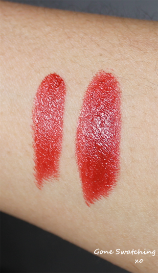 Noyah African Nights - Light and heavy swatch