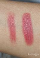Ilia Lipstick Crayon Dress You Up - Light and heavy swatch