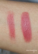 Ilia Lipstick Crayon Dress You Up - Light and heavy swatch