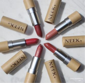 Neek Skin Organics Lipsticks - Gone Swatching xo