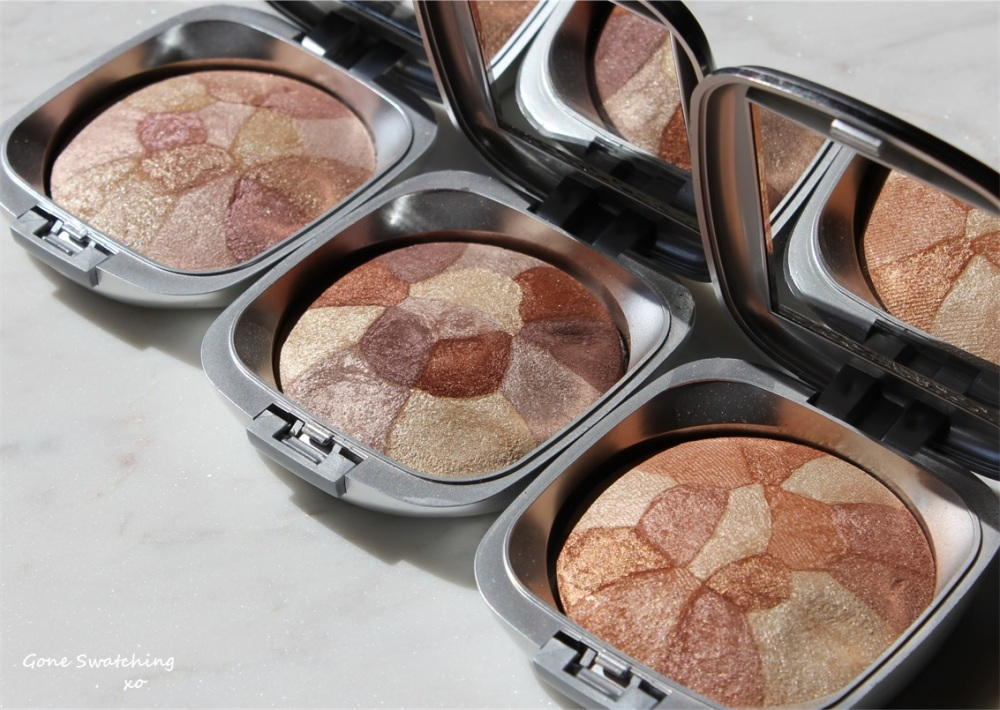 Make Up Artist's Choice Baked Mineral Blush Collage Review and Swatches