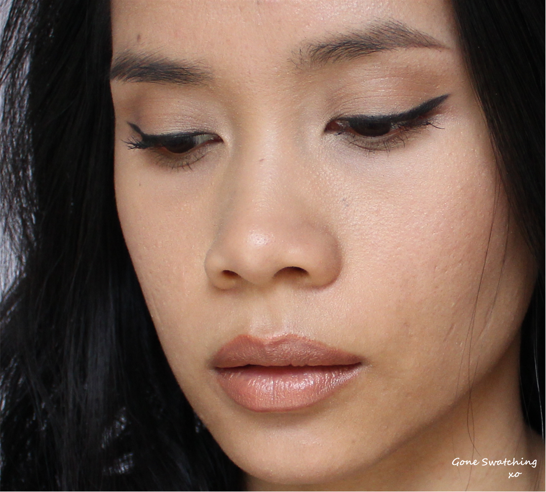 Black Winged Eyeliner and Nude Lips - Featuring Ilia