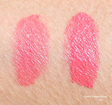 Kjaer Weis Lip Tint Review and Swatches -Blissful and Romance. Gone Swatching xo