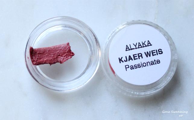 Kjaer Weis Lip Tint Swatches - Gone Swatching xo