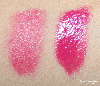 Kjaer Weis Lip Tints Swatches - Rapture. Gone Swatching xo