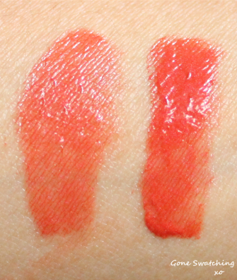 Axiology Lipstick Swatches - Attitude, Noble and Vibration. Gone Swatching xo