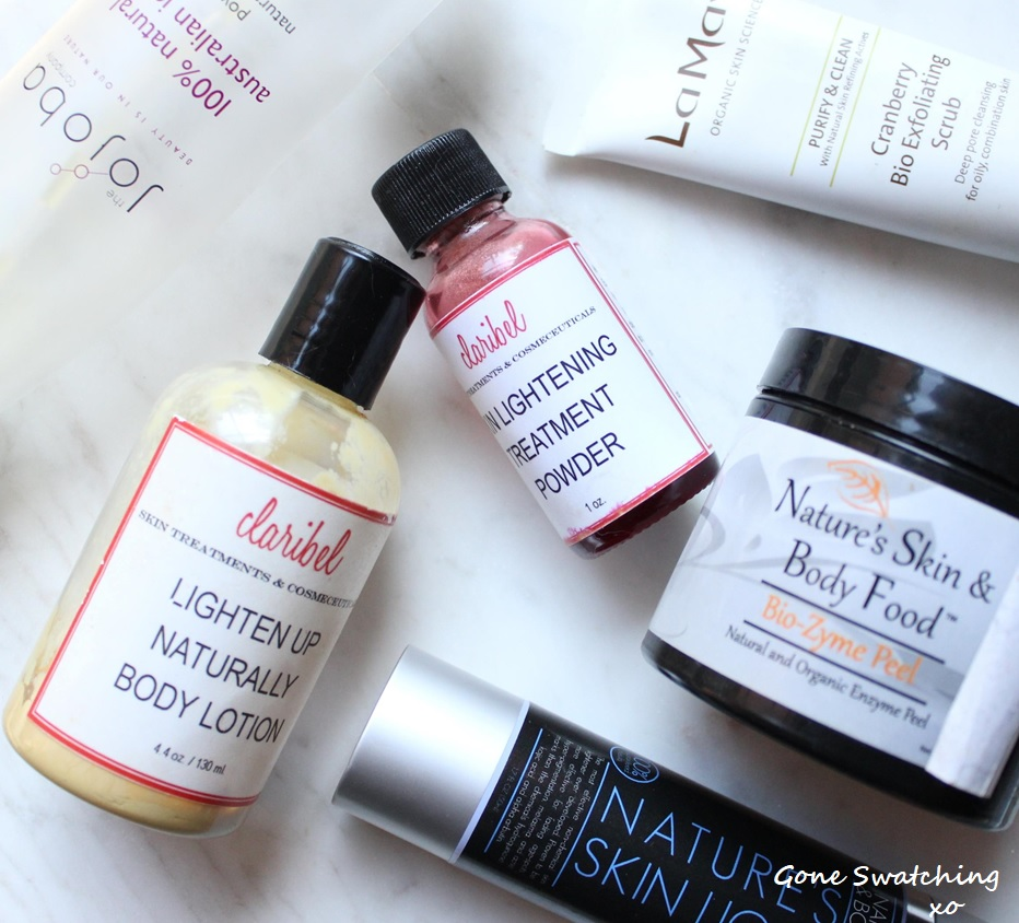 Organic and Natural Empties February 2018