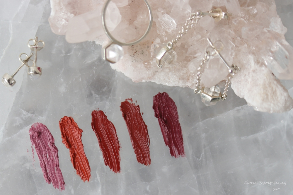 Au-Naturale-Lipstain-Bold-Collection-arm-swatches