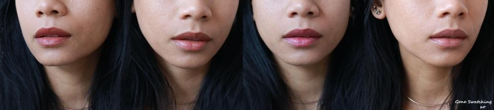 Henne Luxury Lip Tint Azalea Entire Range Swatches - Gone Swatching xo