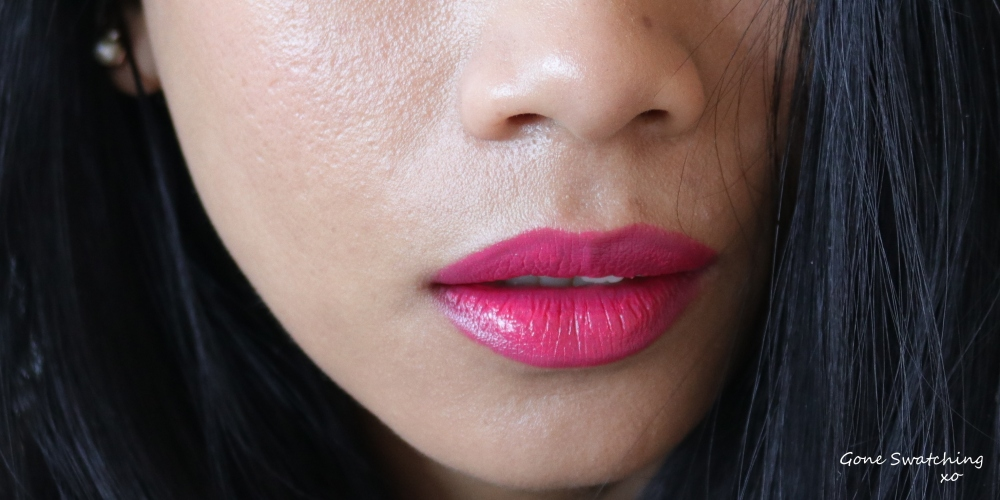 Nu Evolution Lipstick Review and Swatches - Sassy, Allure and Delish - Gone Swatching xo