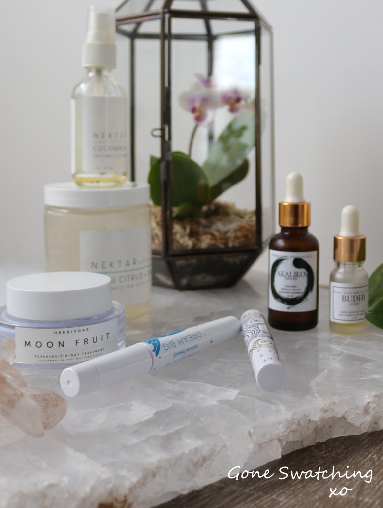 Organic and Natural Empties - August 2018 Gone Swatching xo