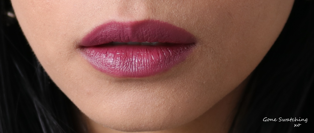 Nu Evolution Lipstick Swatches - Diva, Chianti, Entice, Feisty, Nolita and Fierce. Gone Swatching xo