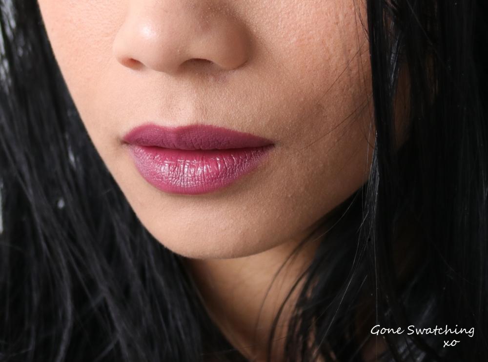 Nu Evolution Lipstick Swatches - Diva, Chianti, Entice, Feisty, Nolita and Fierce. Gone Swatching xo