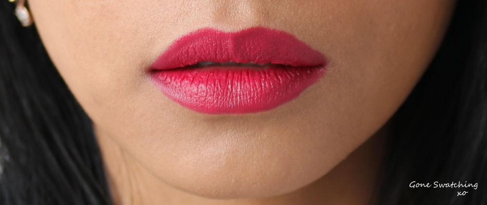 Nudus Lipstick Swatches - Ruby Rose. Gone Swatching xo