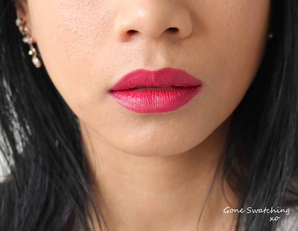Nudus Lipstick Swatches Ruby Rose. Gone Swatching xo