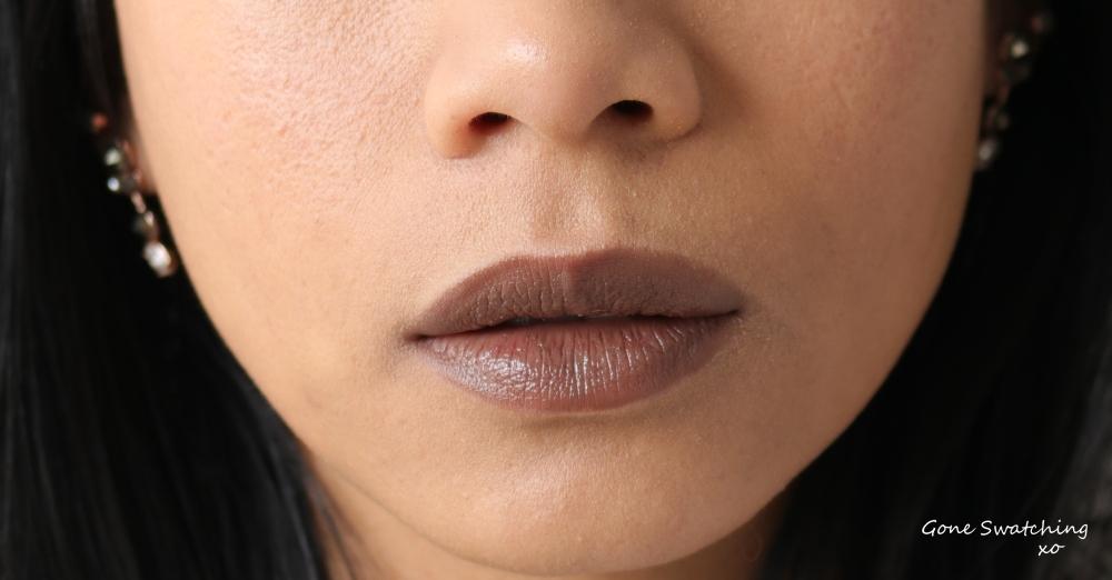 Gressa Lip Boost - Belia swatch. Gone Swatching xo