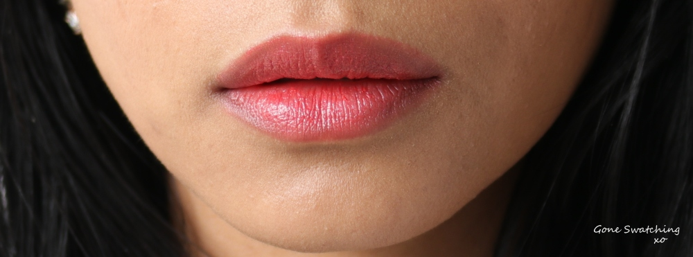 Gressa Lip Boost - Jolie swatch. Gone Swatching xo