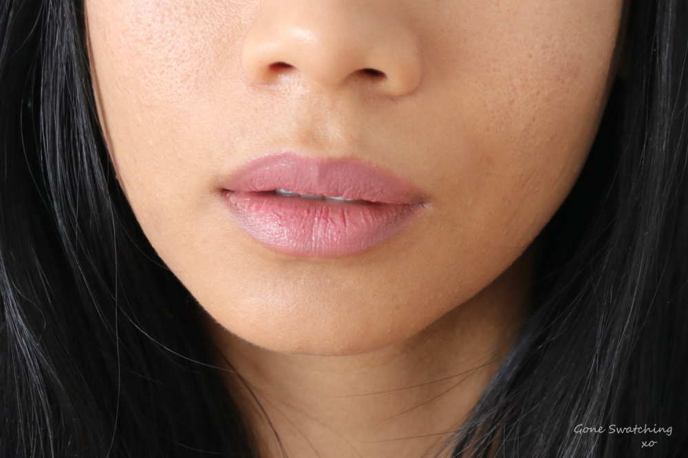 Ere-Perez-Cacao-Lip-Colour-Sway-Lip-Swatch on Asian Skin. Gone Swatching xo