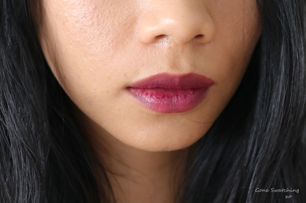 Ere-Perez-Cacao-Lip-Colour-Wander-Lip-Swatch-Review and Swatches on Asian Skin. Gone Swatching xo