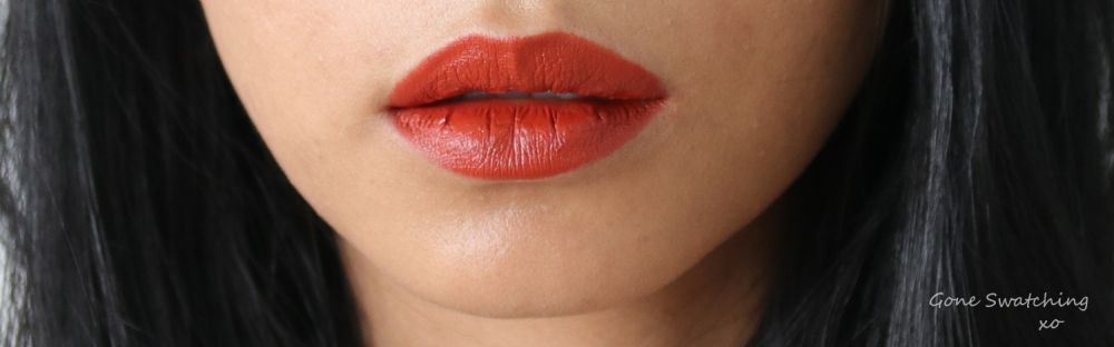 Beautifek Lipstick Review & Swatches. Coral. Gone Swatching xo