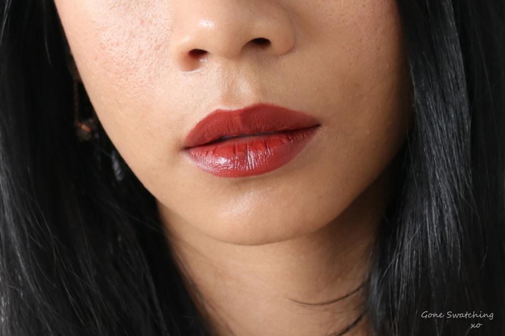 Beautifek Lipstick Swatches. Lip swatch Ruby. Gone Swatching xo