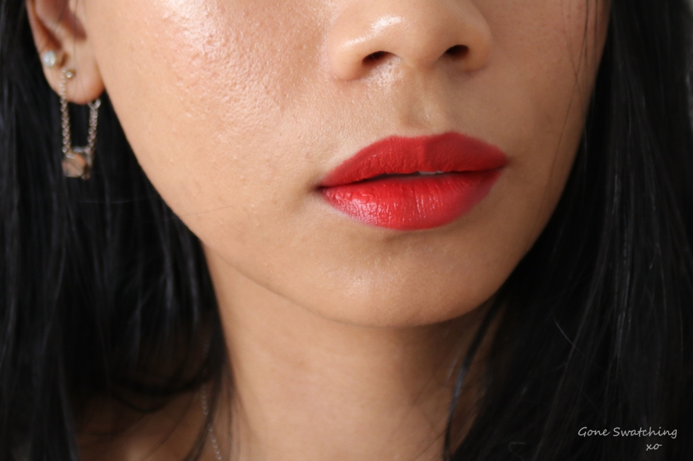 Ere Perez Olive Oil Lipstick Review and Swatches on Asian Skin. Big Band. Gone Swatching xo