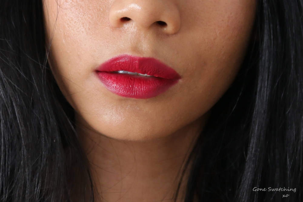 Ere Perez Olive Oil Vegan Lipstick Review and Swatches on Asian Skin. Fiesta. Gone Swatching xo