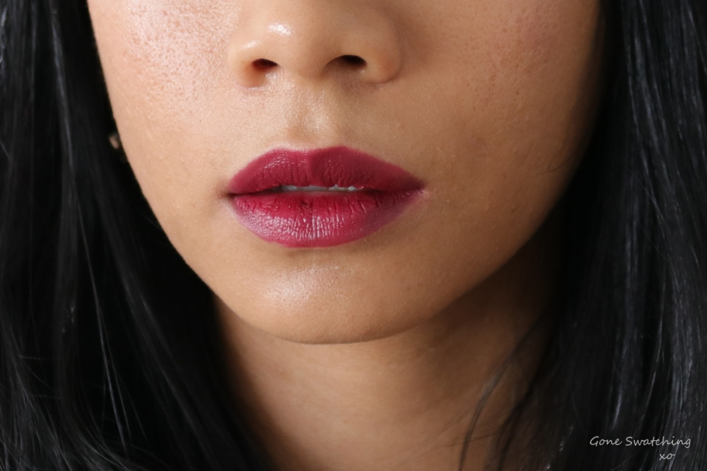 Ere Perez Olive Oil Vegan Lipstick Review and Swatches on Asian Skin. Royal. Gone Swatching xo