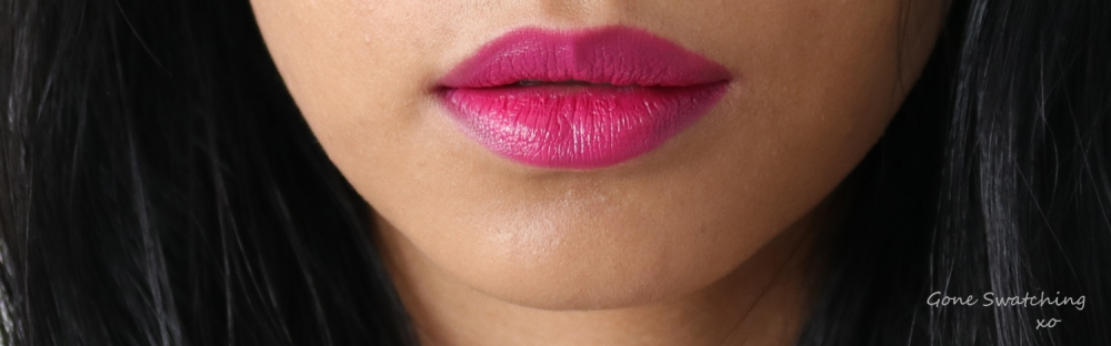 Ilia Beauty Colour Block High Impact Lipstick Review & Swatches. Knockout. Gone Swatching xo