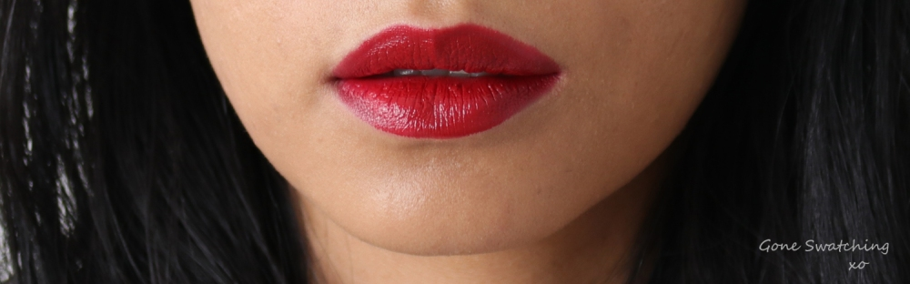 Ilia Beauty Colour Block High Impact Lipstick Review & Swatches. Tango. Gone Swatching xo