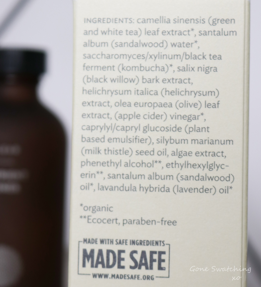 True Botanicals Clear Nutrient Toner Review and Ingredients. Gone Swatching xo