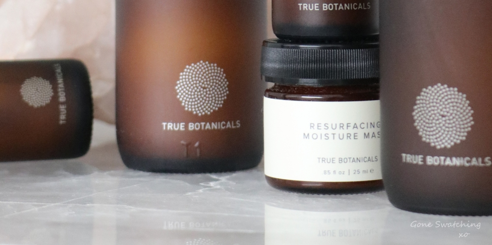 True Botanicals Resurfacing Moisture Mask Review. Clear Collection. Gone Swatching xo