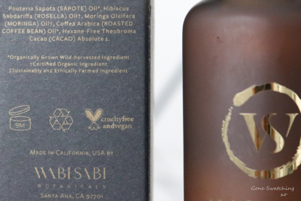 Wabi Sabi Botanicals Skincare Review. The Giver, Still Waters and Valley of Light. Natural Skincare. Gone Swatching xo