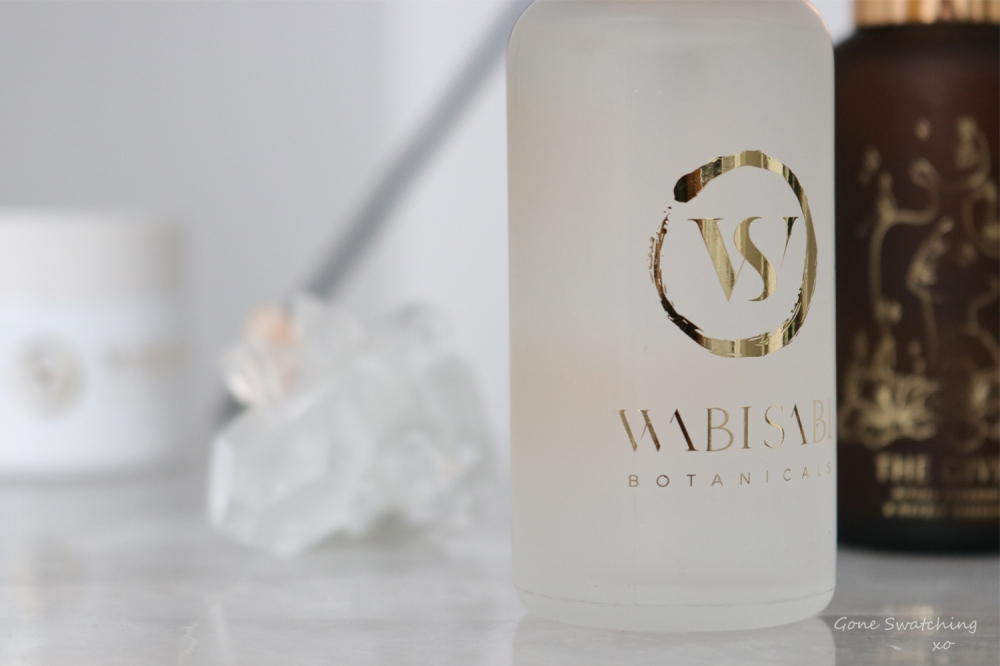 WabiSabi Botanicals Skincare Review for acne prone skin. Gone Swatching xo.