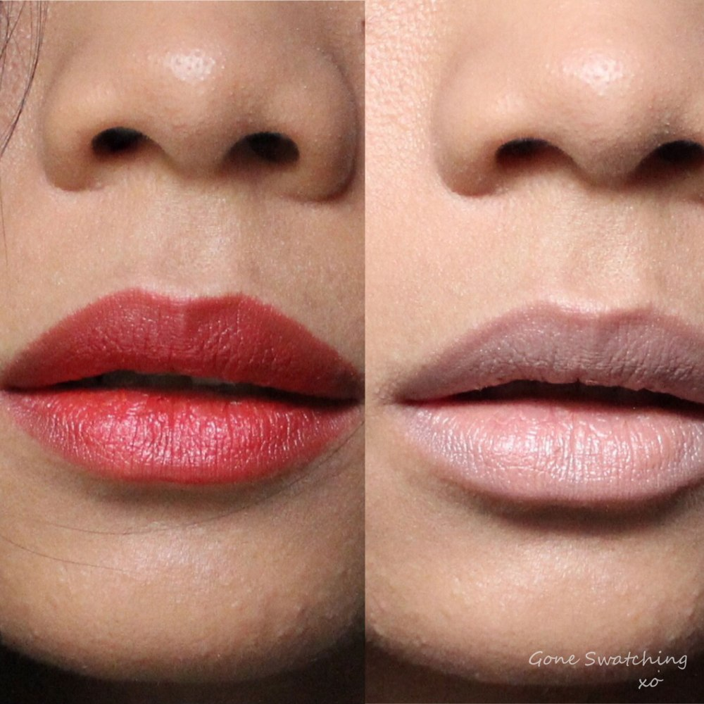 Au Naturale Eternity Lipstick Review & Swatches on Asian Skin. Gone Swatching xo