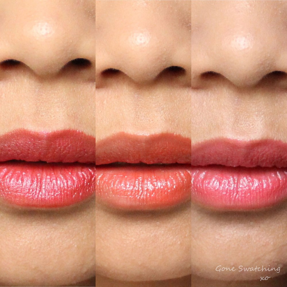 Axiology Lipstick Review & Swatches on Asian Skin. Vibration, Noble & Attitude. Gone Swatching xo