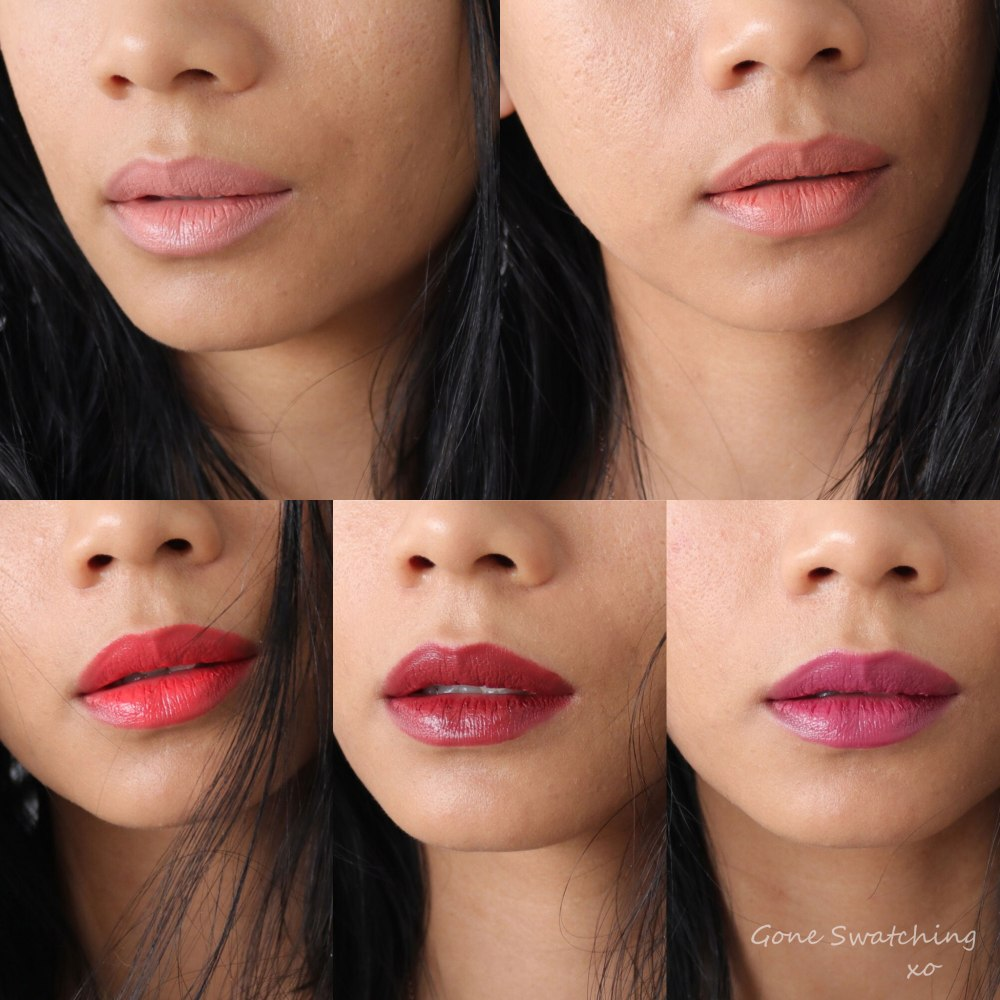 Ere Perez Carrot Colour Pot Lip Swatches. Entire collection Review and Swatches. Gone Swatching xo