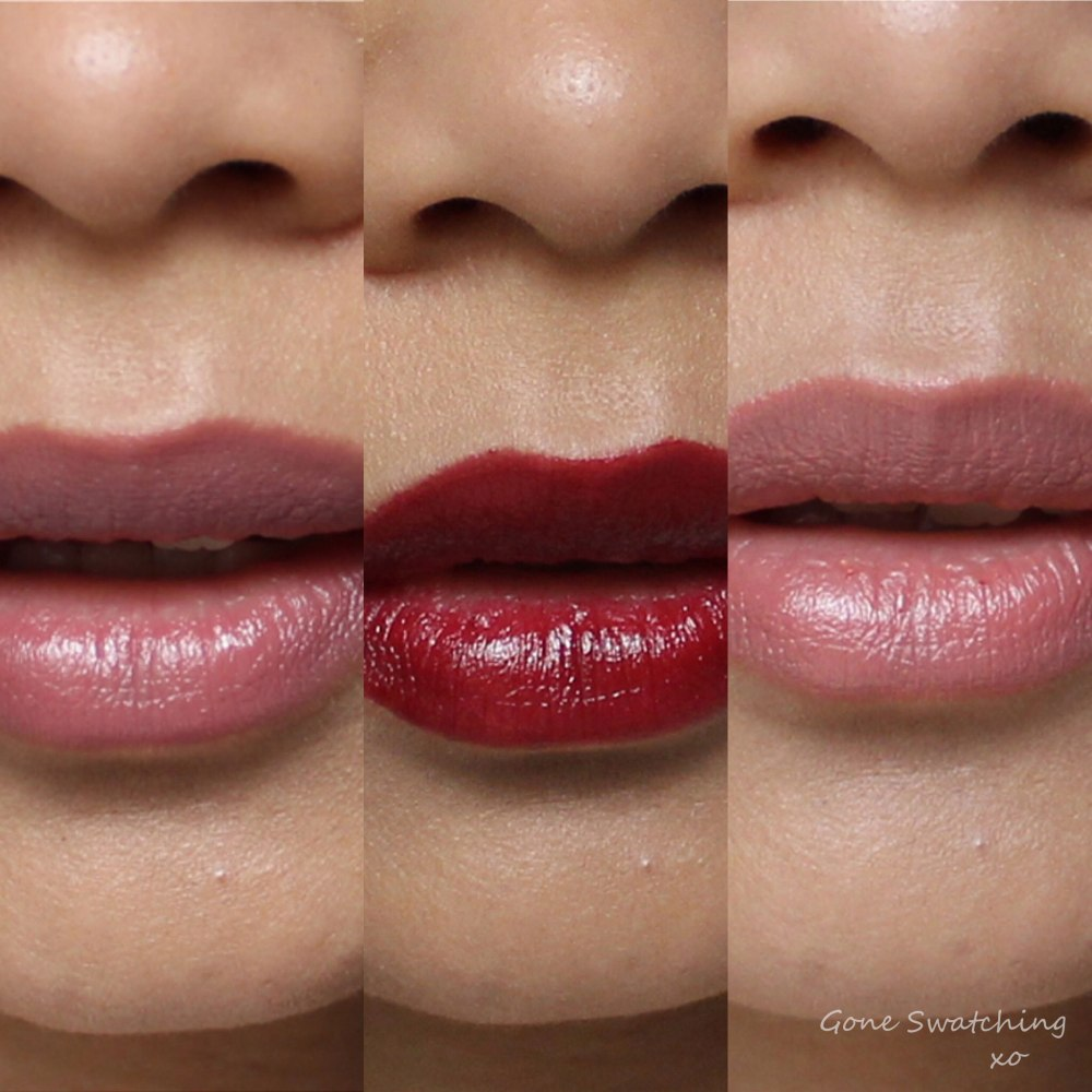 Ilia Lipstick Review & Swatches. Lucy's Party, Madam Mina & The Brides. Gone Swatching xo