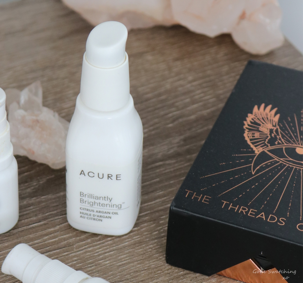 Natural & Organic Skincare Empties. Acure - April 2019. By Green Beauty Blogger Gone Swatching xo