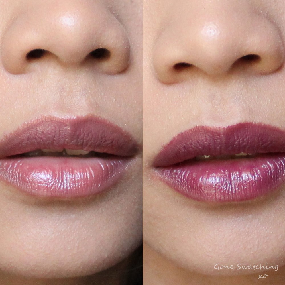 Vapour Beauty Siren Lipstick swatches & Review. Holiday & Magnetic. Gone Swatching xo