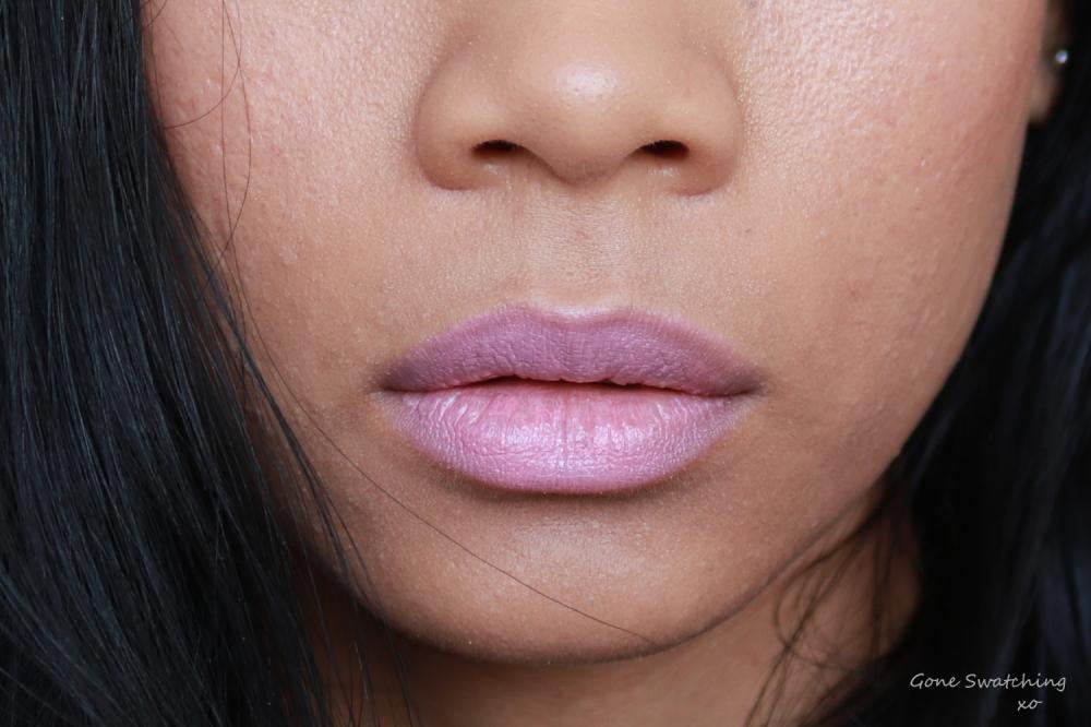 RMS Beauty Lip2Cheek Demure Lip Swatch. Gone Swatching xo