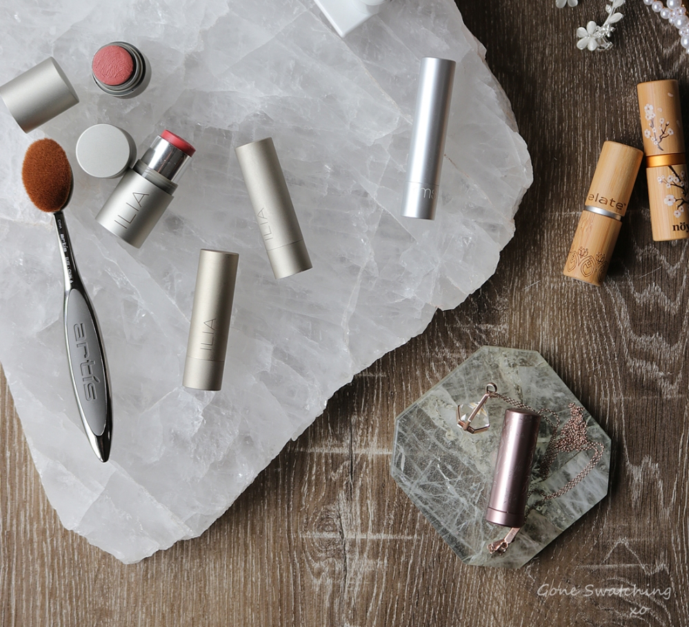 My 18 Favourite Organic, Natural & Green Beauty Lipstick Colours of 2019. Gone Swatching xo