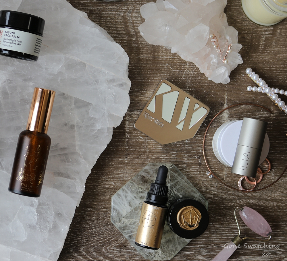 My Favourite Natural, Organic Luxury Skincare & Makeup of 2019. Gone Swatching xo