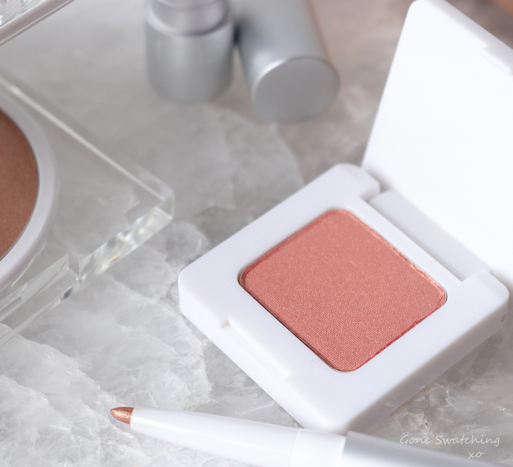 RMS Beauty Savannah Peach Collection Review. Swift Shadow Savannah Sunset. Gone Swatching xo