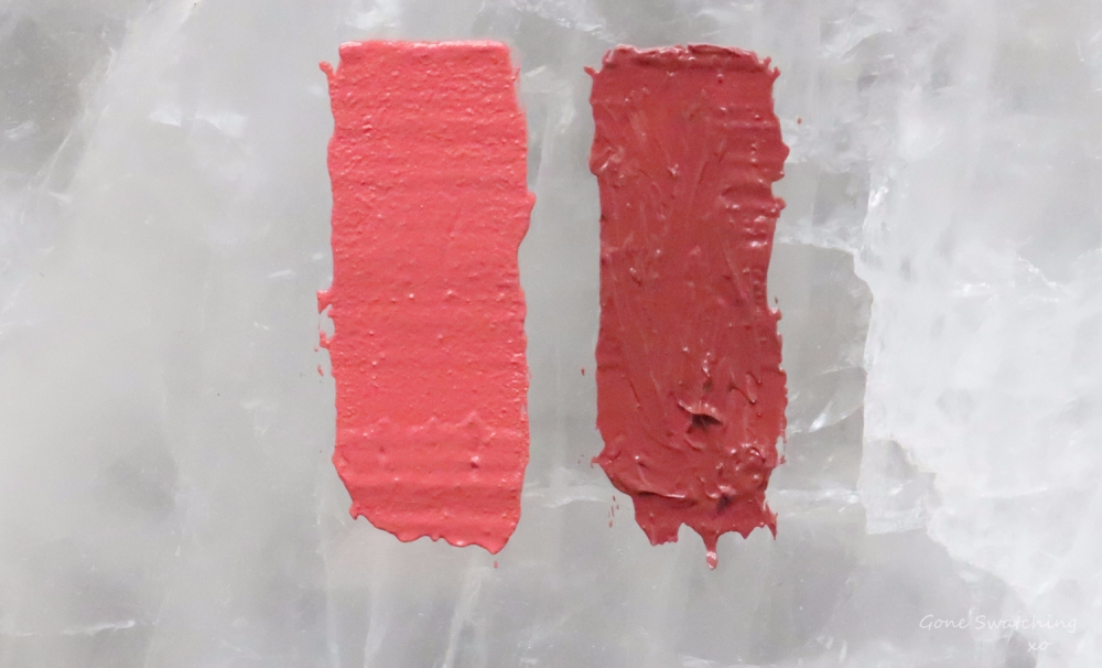 RMS Beauty Lip2Cheek Swatches & Review. Modest & Illusive. Gone Swatching xo