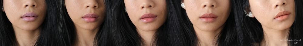 Ilia Beauty Tinted Lip conditioner. Hold Me Now, Blossom Lady, Nobody's Baby, These Days, Dizzy, In Paradise. Gone Swatching xo
