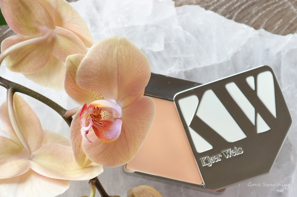 Kjaer Weis Cream Foundation Review & Swatches on Asian Skin. Subtlety. Gone Swatching xo