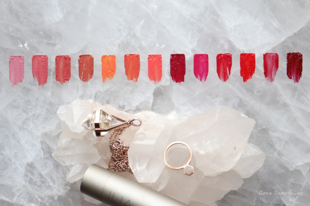 Ilia Beauty Tinted Lip conditioner review & swatches. Green Beauty Gone Swatching xo