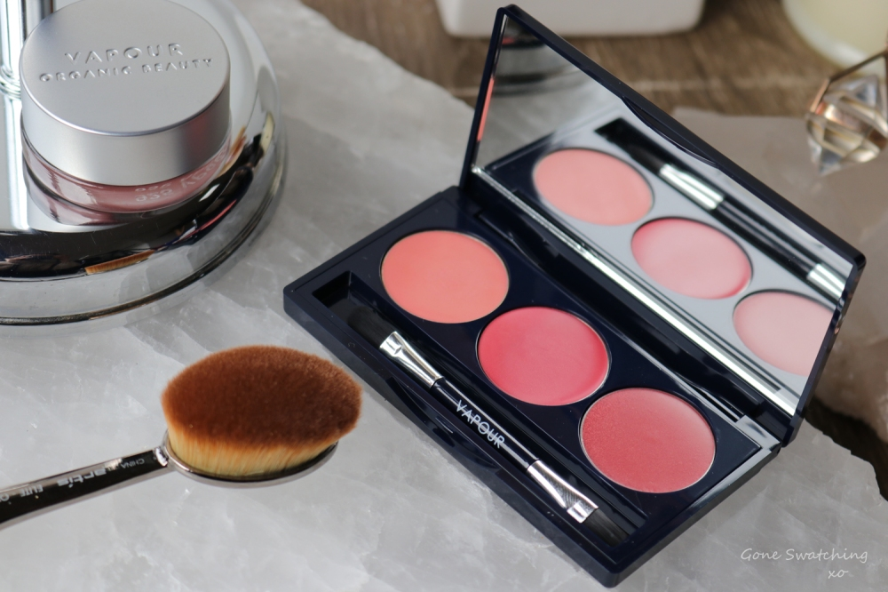 Vapour Organic Beauty Artist Multi Use Palette in Flame Review & Swatches. Gone Swatching xo