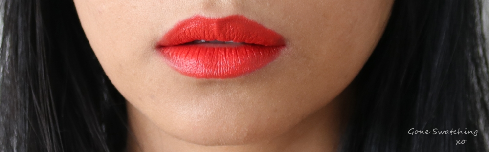RMS Beauty Wild with Desire Lipstick Review & Swatches. Firestarter. Gone Swatching xo